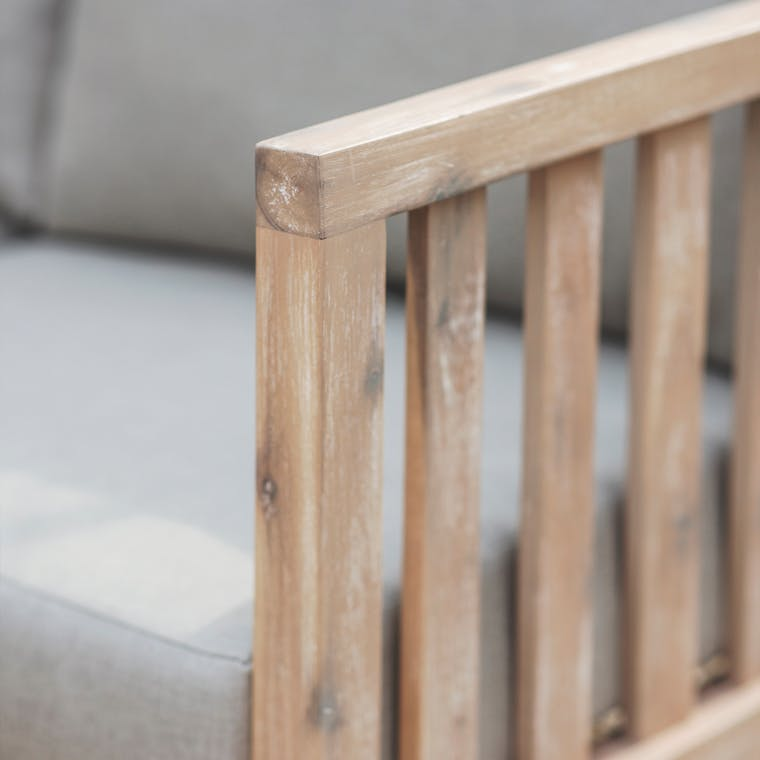 Acacia Wood Swatch for Porthallow | Garden Trading