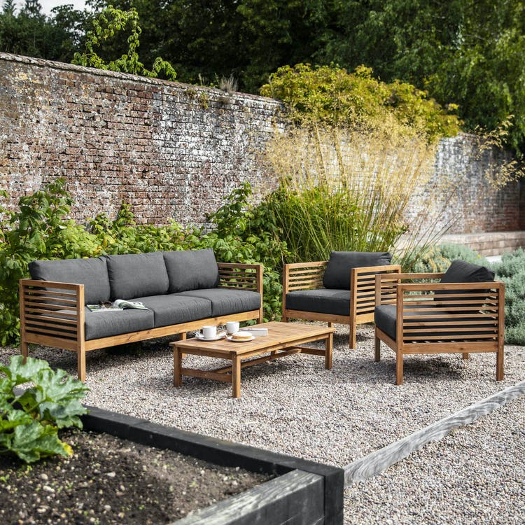 Wooden Cadgwith Outdoor Sofa Set