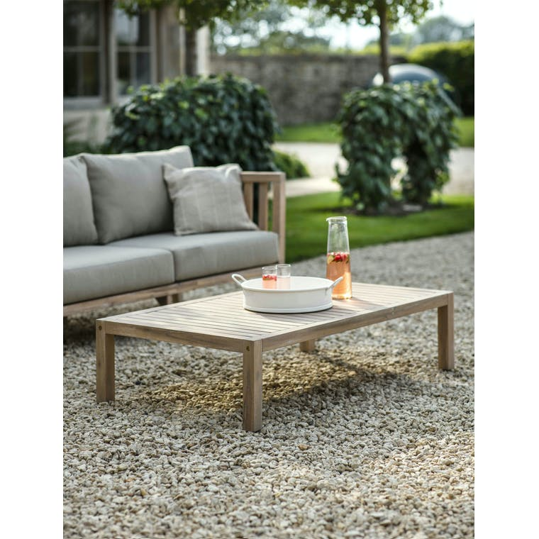 Garden Trading Porthallow Coffee Table - Acacia Wood