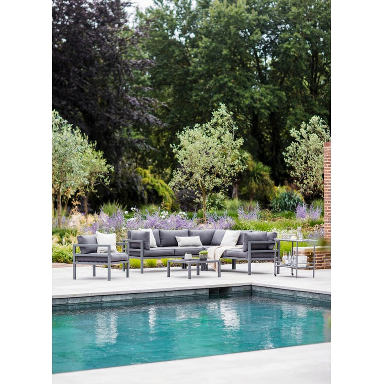 West Strand Outdoor Corner Sofa Set | Garden Trading