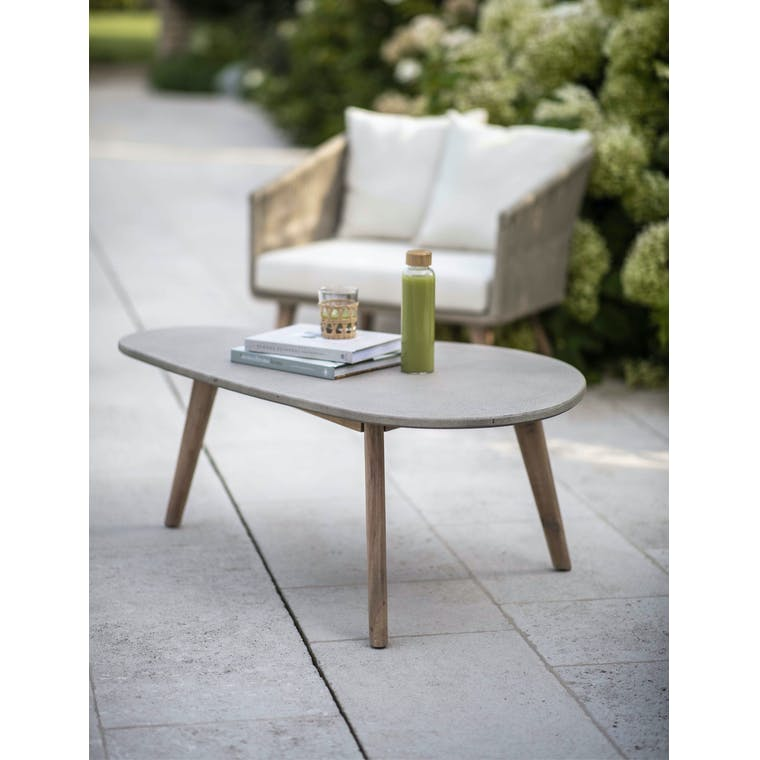Garden Trading Colwell Coffee Table - Polyconcrete