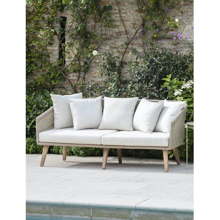 Garden Trading Colwell 2 Seater Sofa - Polyrope