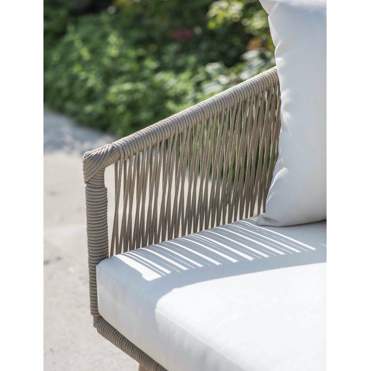 Polyrope Colwell Outdoor 2 Seater Sofa   Garden Trading