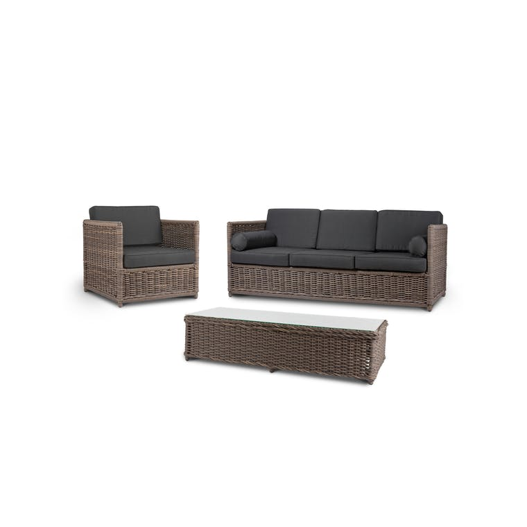PE Rattan Harting Outdoor Sofa Set | Garden Trading