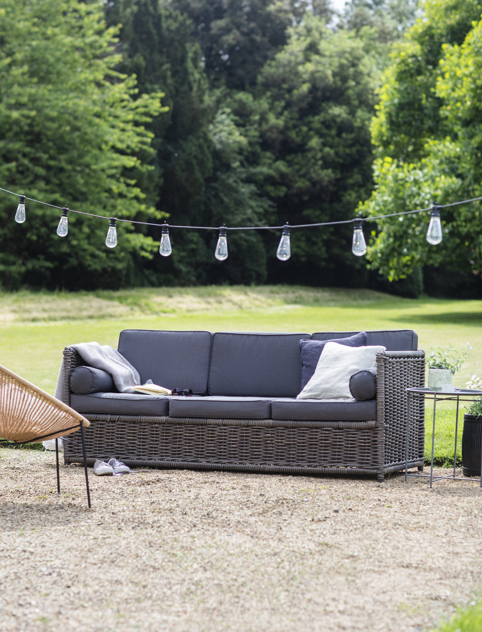 All-weather Rattan Harting Outdoor Sofa  | Garden Trading