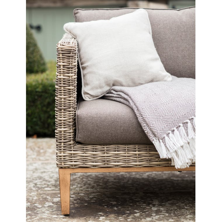 All-weather Rattan Walderton Outdoor Corner Sofa Set  | Garden Trading