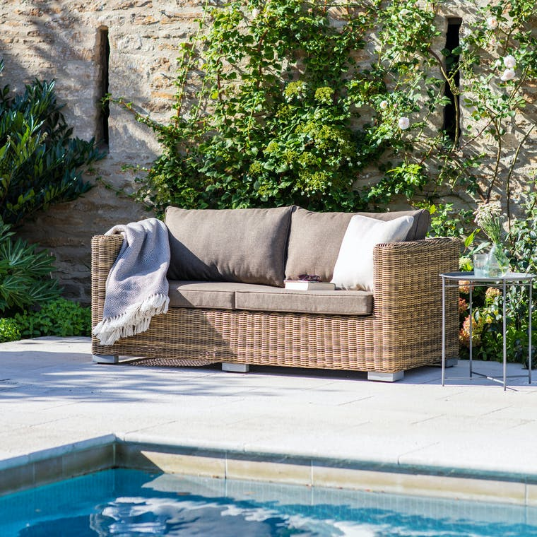 All-weather Rattan Marden Outdoor Sofa | Garden Trading