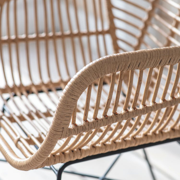 Pe Bamboo Swatch For Hampstead Garden, Bamboo Outdoor Furniture Set