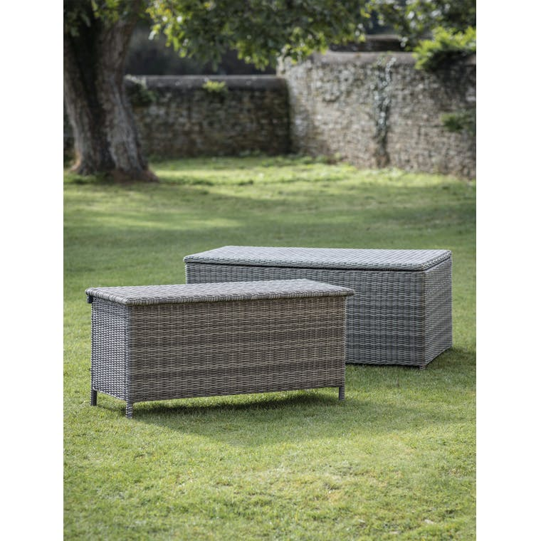 Garden Trading Selborne Storage Box, Small - All-weather Rattan