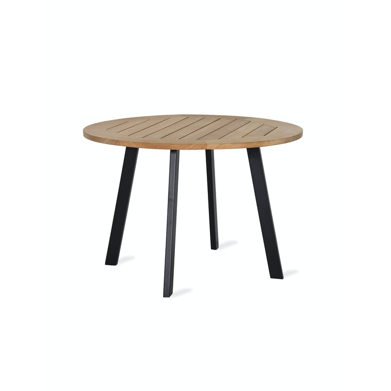 Teak Gwithian Outdoor Round Table | Garden Trading