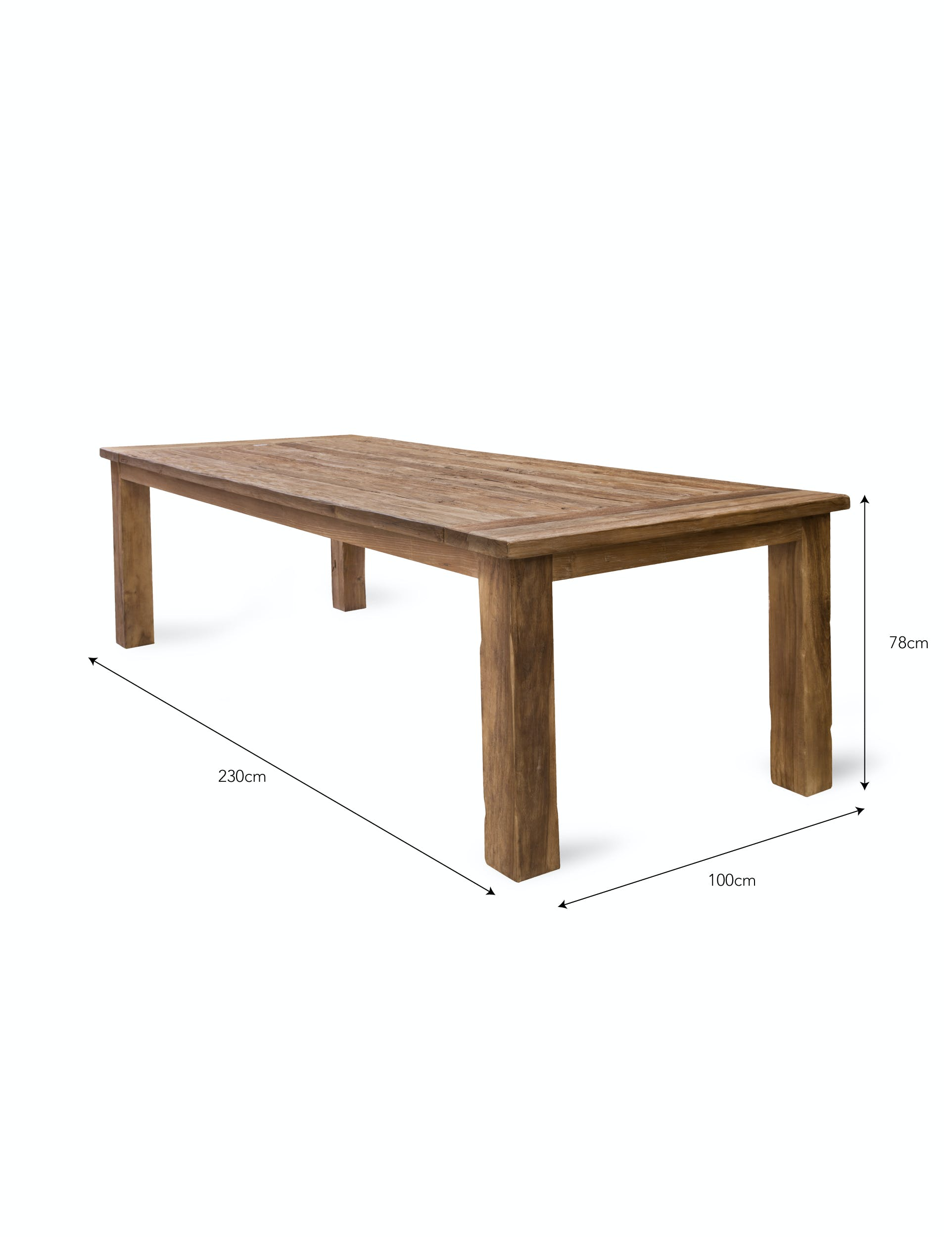 Teak St Mawes Table | Garden Trading