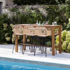 St Mawes Drinks/Planter Bar Table