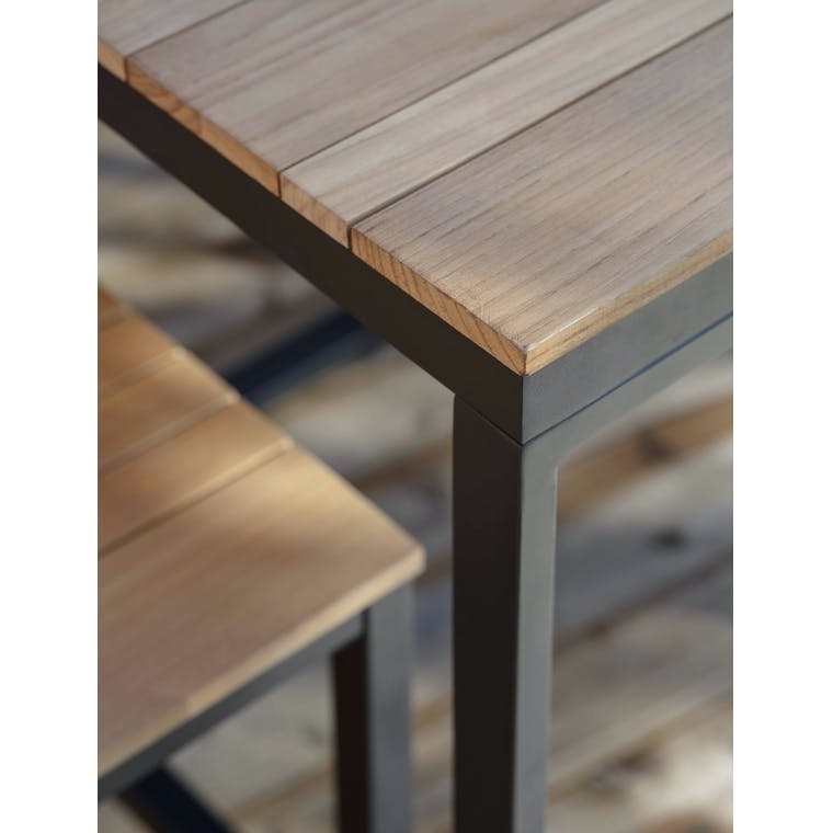 Teak Camley Outdoor Table Set in Small or Large   Garden Trading