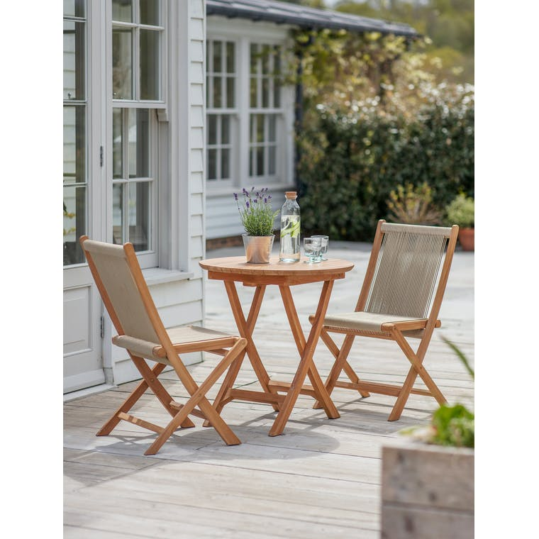 Carrick Table and Chair Set by Garden Trading