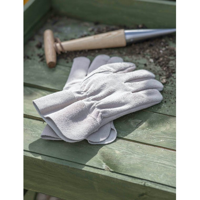 Garden Trading Garden Gloves in Natural - Suede
