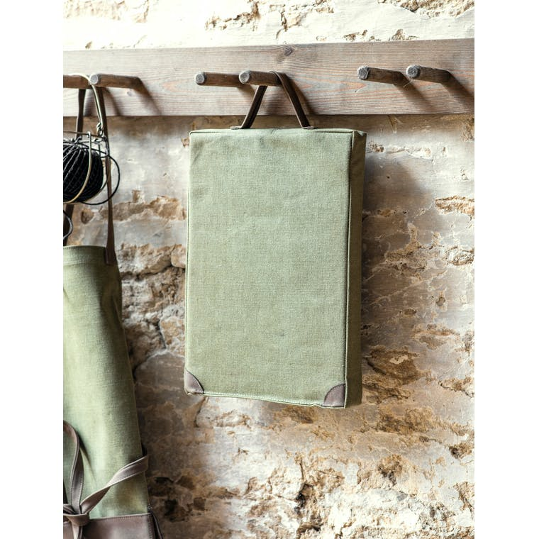 Canvas Garden Kneeler in Khaki | Garden Trading