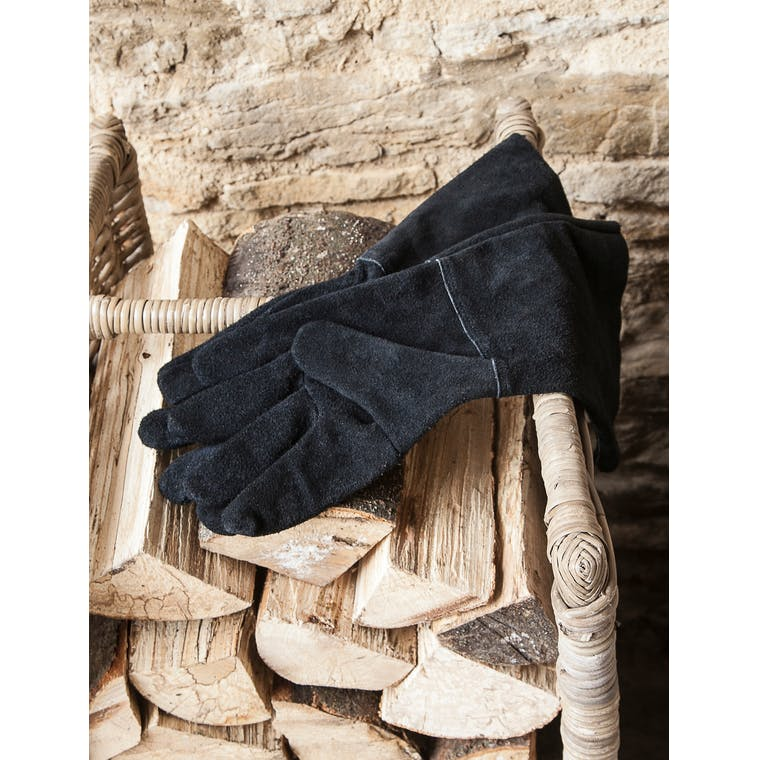 Garden Trading Black Gauntlet Gloves