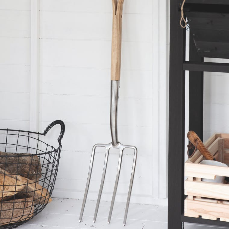 Stainless Steel Hawkesbury Digging Fork | Garden Trading