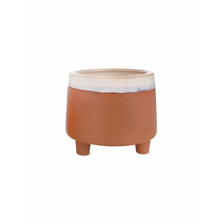 Ceramic Halston Pot in Small or Large | Garden Trading