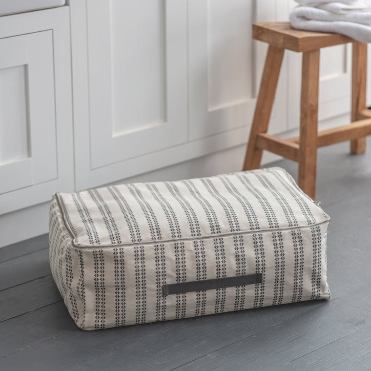 Canvas Hatherop Under Bed Storage in Small or Large | Garden Trading