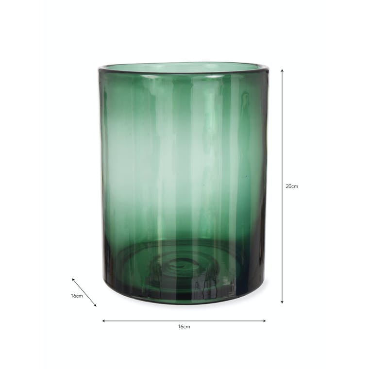 Glass Oban Vase in Small or Large | Garden Trading