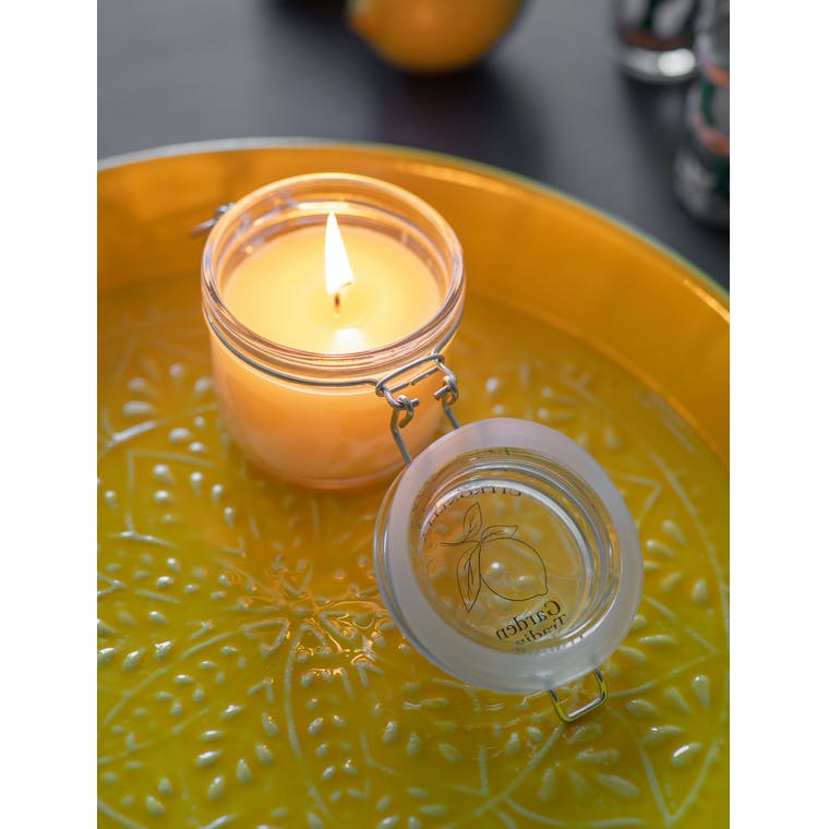 Citronella Jar Candle in Glass | Garden Trading