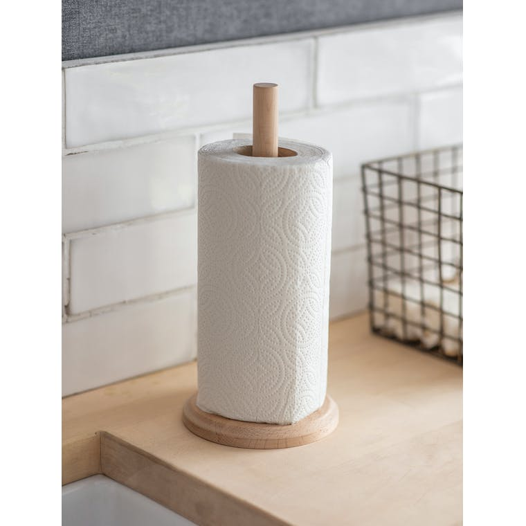 Wooden Borough Kitchen Roll Holder | Garden Trading