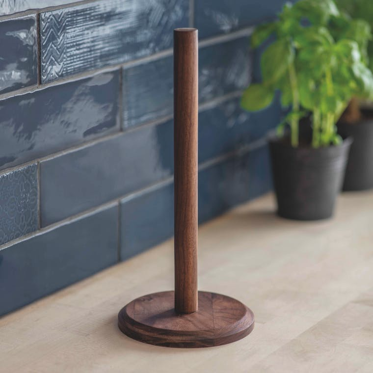 Wooden Brook Kitchen Roll Holder | Garden Trading