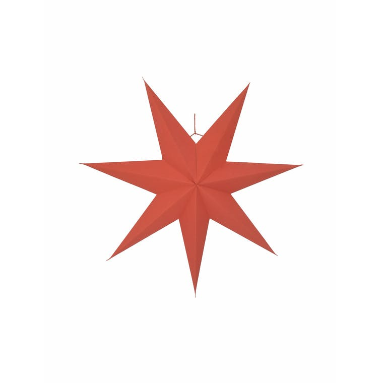 Paper Maddox Star in White, Red or Black | Garden Trading