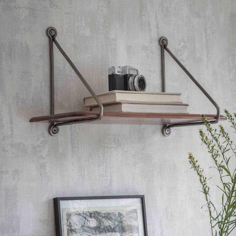 Wooden Kersoe Shelf in Small or Large | Garden Trading