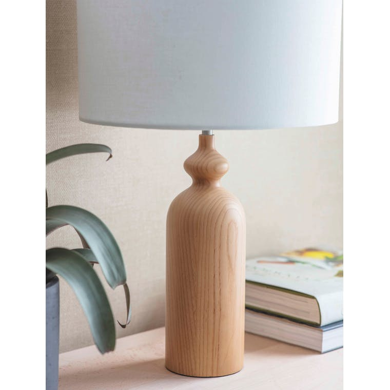 Wooden Bloomsbury Table Lamp | Garden Trading