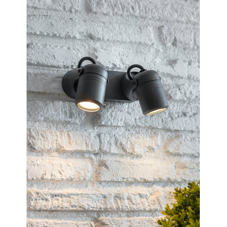 Bodnant Wall Light Double by Garden Trading