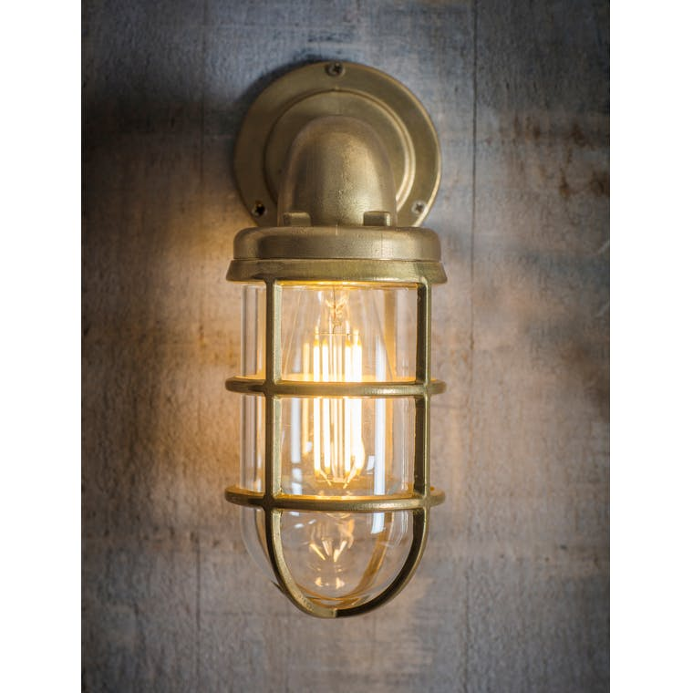 Brass Devonport Down Light | Garden Trading