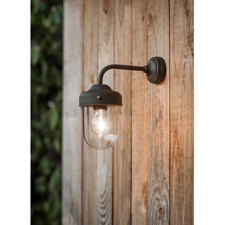 Outdoor Barn Light in Black, Brown, White or Grey | Garden Trading