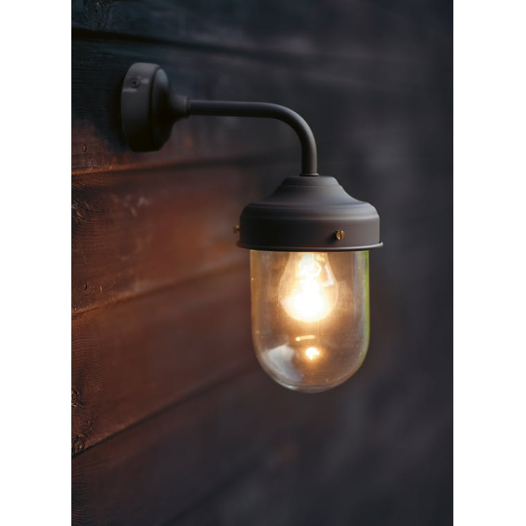 Barn Outdoor Wall Light in Grey, Brown, Cream or Black | Garden Trading