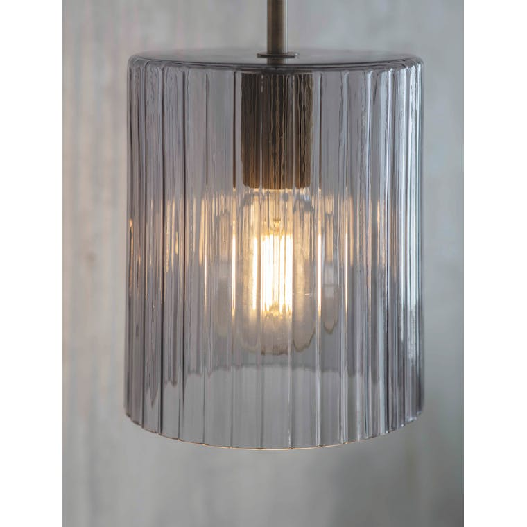 Glass Clarendon Pendant Light | Garden Trading