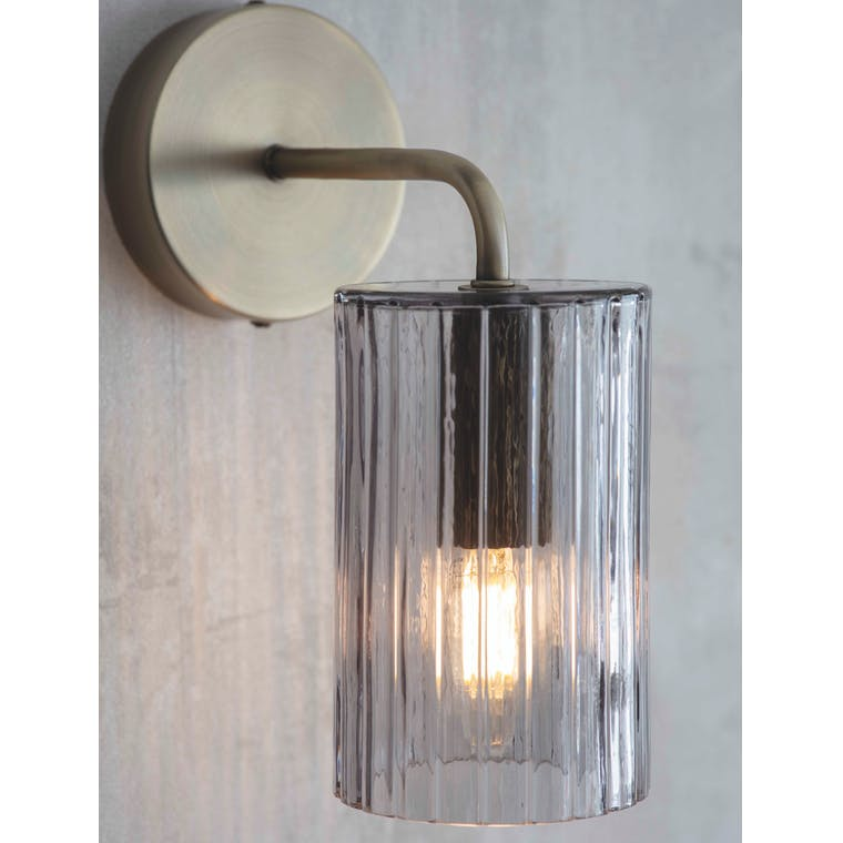 Glass Clarendon Wall Light | Garden Trading