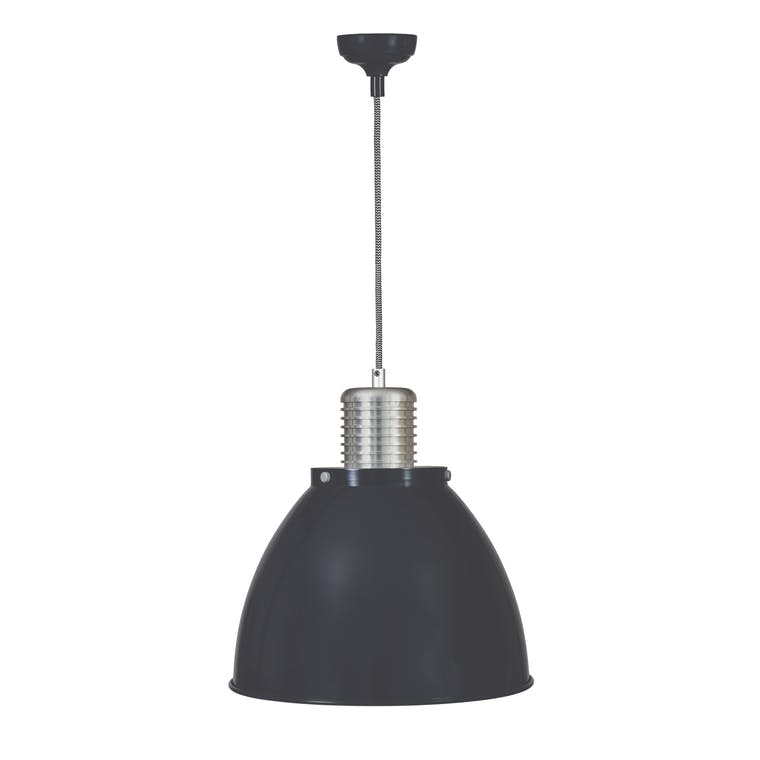 Small Meriden Pendant Light in Black | Garden Trading