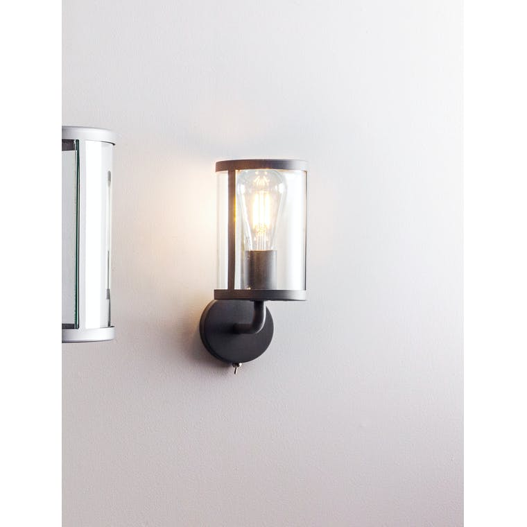 Cadogan Indoor Wall Light in Black | Garden Trading