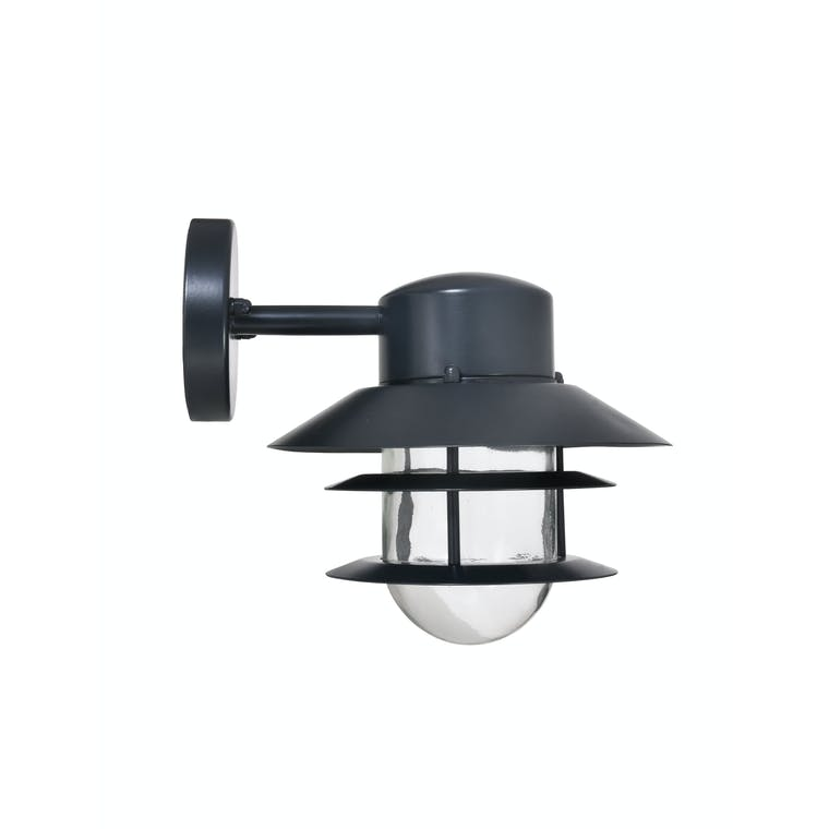 Outdoor Strand Down Light in Black | Garden Trading