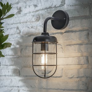 Carbon Harbour Wall Light