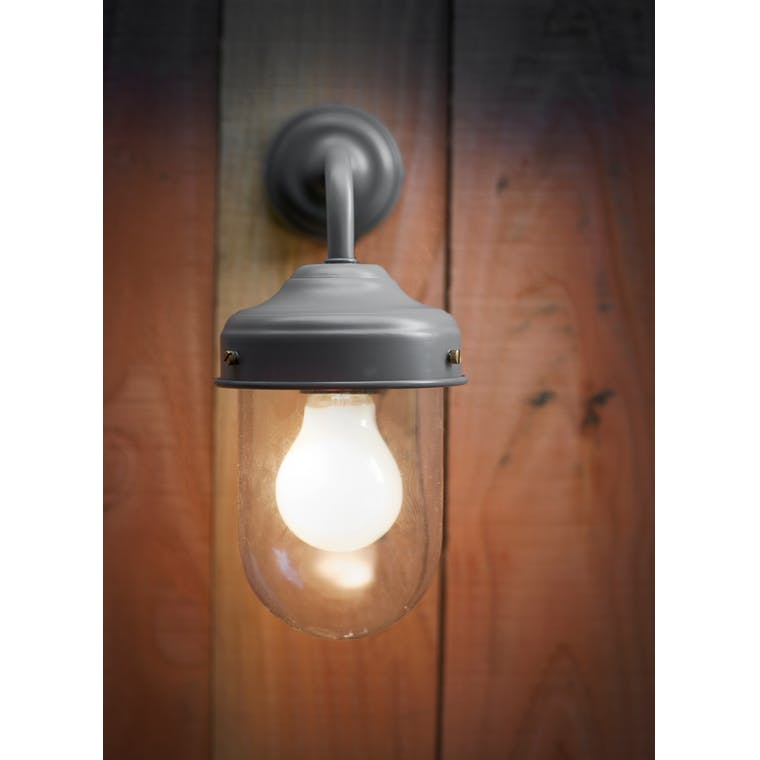 Barn Light Charcoal: Barn Outdoor Wall Light In Grey, Brown, Cream Or Black