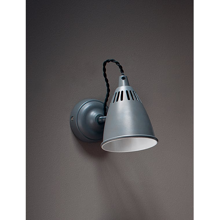 Cavendish Indoor Wall Light in Grey  | Garden Trading