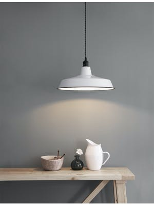 Albion Pendant Light, Wide