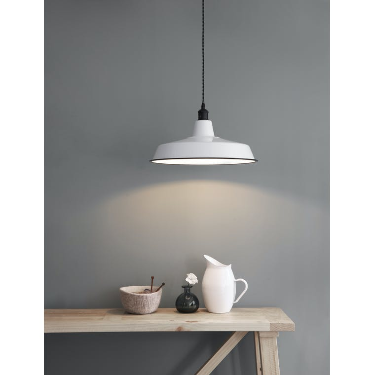 Garden Trading Albion Wide Pendant Light