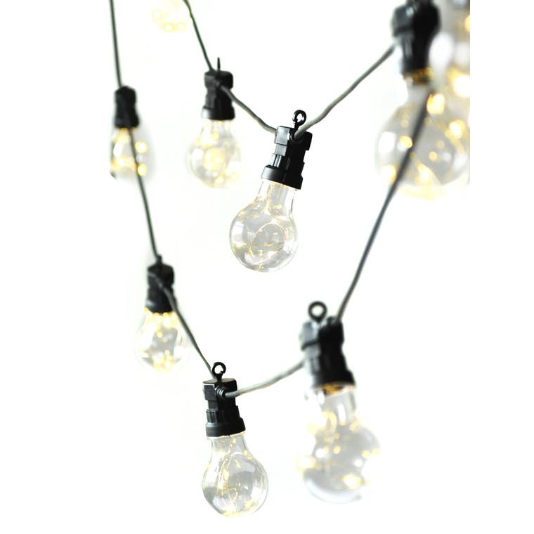 Classic Festoon Lights in 10 or 20 Bulbs | Garden Trading