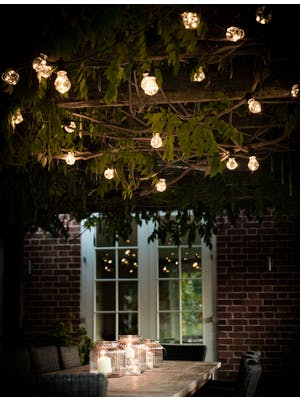 Black Festoon Classic Lights