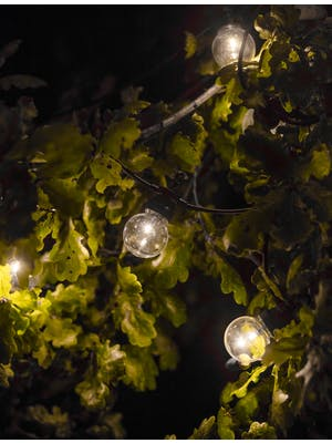 Festoon Lights, Golf Ball