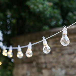 White Festoon Classic Lights