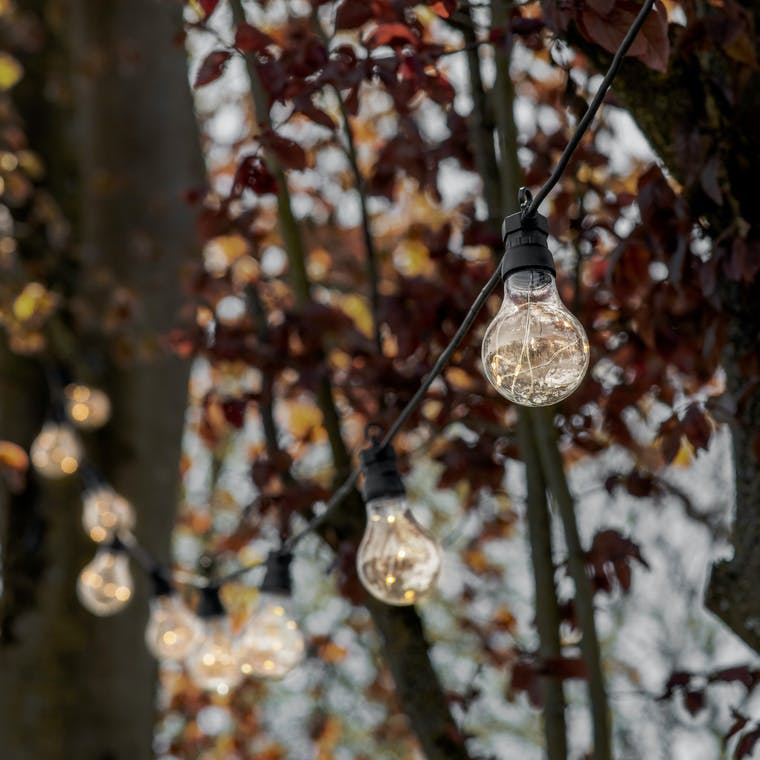 Festoon Classic Extendable Lights | Garden Trading